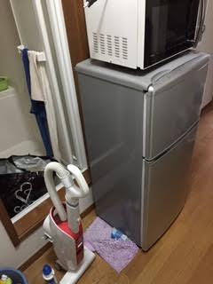 冷蔵庫、電子レンジ、掃除機回収処分